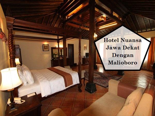 Hotel Nuansa Jawa Dekat Dengan Malioboro