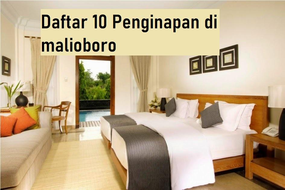 Daftar 10 Hotel Di Malioboro