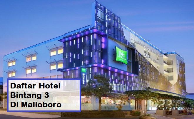 Daftar Hotel Bintang 3 Di Malioboro
