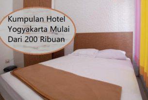 Kumpulan Hotel Yogyakarta Mulai Dari 200 Ribuan